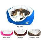 Small Medium Pet Bed Cushion Dog Cat Soft Warm Fleece Cozy Nest House Cotton Mat