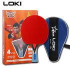 LOKI 3/4 Stars Professional Table Tennis Ping Pong Racket Paddle Bat Blade FL CS
