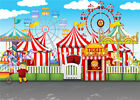 Birthday Photo Background prop Circus Carnival Party Baby Photography Backdrops