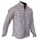 Motorcycle Cotton Shirt FULLY Lined with DuPont™ Kevlar® ARAMID S-8XL N&R