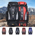 100L Waterproof Climbing Hiking Backpack Rain Cover Bag Mountaineering Backpack