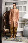 Mens Designer Wear Pakistani Traditional Bollywood Wedding Indo Western India