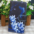 Dream Catcher Butterfly Orchid Flower Wallet Flip case cover for Samsung Phone