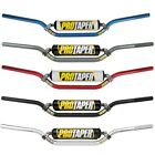 "Pro Taper SE Seven Eighths Dirt Bike Handlebars 7/8"" Black/Plat/Silver/Blue/Red"