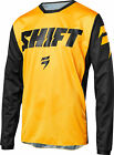 Shift Racing Mens Yellow/Black White Label Ninety Seven Dirt Bike Jersey ATV MX