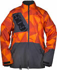 509 Mens Orange/Grey Forge Non-Insulated Snowmobile Jacket Snocross