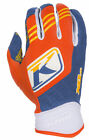 Klim Mens Orange Flame/Blue XC Dirt Bike Gloves MX ATV Motocross Off-Road 2016