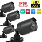4pcs CCTV Security Camera System Kit HD 720P IR Night Vision Outdoor Waterproof