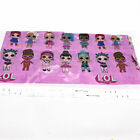 Themed Cartoon Tablecloth Table Cover Supplies LOL DOLL SURPRISED 132x220cm