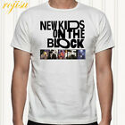 NKOTB New Kids on The Block Boy Band Men's White T-Shirt Size S to 3XL image