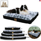 Lovely Luxury L-XXXL Large Dog Bed/Mattress Washable Zipped Cover Waterproof US