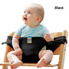 Baby High Chair Seat Harness Dining Belt Portable Safety Feeding Strap Trolley