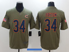 Chicago Bears Walter Payton 34 Salute to Service Camo Jersey