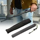 3 Sections Retractable Spring Stick Protector Unisex Outdoor Emergency Escape