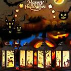 NEW Halloween Vintage Pumpkin Castle Light Lamp Party Hanging Decor  LED Lantern