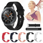 For Samsung Galaxy Watch 46mm/Ticwatch pro Silicone Replacement Band Wrist Strap