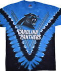 New CAROLINA PANTHERS V  Tie Dye T-Shirt NEW LICENSED TEAM APPAREL NFL on eBay