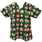 Christmas Scrub Top
