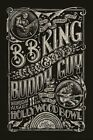 B.B.KING & Buddy GUY - Hollywood Bowl Original Concert Poster Giclee Print
