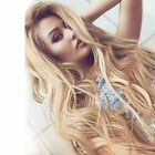 Natural Wave #27 Blonde Lace Front Wigs 9A Brazilian Human Hair 150%Density