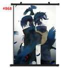 "Anime Naruto manga Wall Scroll Poster cosplay8""x11"" A"