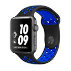 Silicone Strap For Apple Watch Band 42mm/38mm iWatch nike+ all series 1 2 3