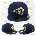 Los Angeles RAMS Classic Wool Team Color Fitted Cap $34.99 USD on eBay