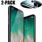 2PACK LOT For iPhone Xs Max / Xs / Xs 9H Premium Tempered Glass Screen Protector