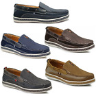 Men Brixton Boat Shoes Driving Moccasins Slip On Loafers Size 75 13
