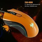 Portable USB Wired Optical Gaming Mouse Mice 4000 DPI For Laptop Computer PC US