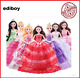 Clothes for Dolls Baby doll accessories dress for dolls 5pcs/lot