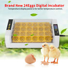 Farm Digital Egg Incubator Hatcher Temperature Control Automatic Turning Chicken