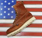 """Thorogood 8"""" American Heritage Soft MOC Toe Wedge Boots [814-4201] Made in USA"""
