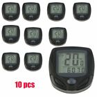 LOT Bicycle Speedometer Odometer Wireless Waterproof Bike Computer LCD Display @