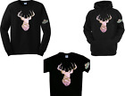 Mossy Oak Camo Deer Pink T'shirt Long Sleeve Tees Hoodies