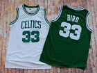 Larry Bird  #33 Boston Celtics retro classic Basketball Jersey Size S~XXXL on eBay