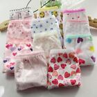 12PCS/lot panties kids underwear briefs girls underwear next baby kids pants sho