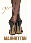 Gio Fully Fashioned Stockings - MANHATTAN Heel - Imperfects - NYLONZ