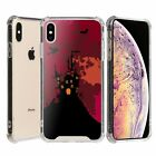 """For iPhone XS MAX 6.5"""" Bumper Case Halloween Witch House"""