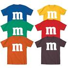 M  M Halloween Costume M and M Group Costumes Tee Youth T Shirt Tee New