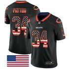 New Chicago Bears Walter Payton 34 Stars and Stripes Jersey