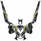 Ski Doo REV XM Graphic Kit Wrap Decals Stickers Camo Razer Design B.A.W