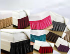 "Dust Ruffle Elastic Wrap Around Bed Skirt All Size COLORS 13"" Drop NEW  image"