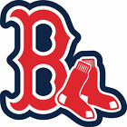 Boston Red Sox Sticker for skateboard luggage laptop tumblers  (c) on Ebay