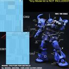 DL Caution Details up Water Decal Stickers for Bandai MG 1/100 RE TV HRIM Gundam