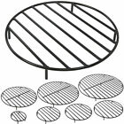 Sunnydaze ELEVATED ROUND STEEL FIRE PIT GRATE - assorted sizes