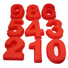 10 inch Number 0-9 Silicone Cake Mold Digital Non stick Cake Bakeware Mould Pan
