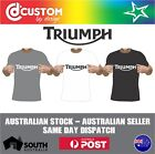 Triumph Classic Logo T-shirt Motorcycle Vintage Classic Bike Racer Indian $21.95 AUD on eBay