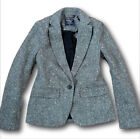 NWT Abercrombie&Fitch by Hollister Women's Single-Breasted Blazer Wool Jacket