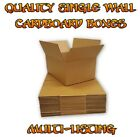 Quality Cardboard Boxes - Single Wall Packing Storage Mailing Postal Box Cartons